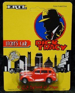 Ertl Collectibles Dick Tracey Itchy's car Toys & Games