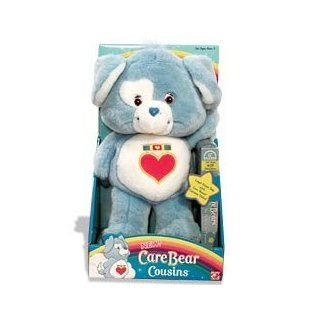 Care Bears Cousins Loyal Heart Dog Plush With Video (VHS) Toys & Games