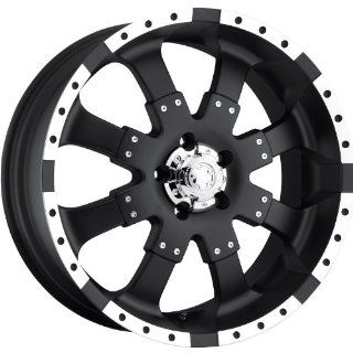Ultra Goliath 22x9.5 Black Wheel / Rim 8x180 with a 35mm Offset and a 124.30 Hub Bore. Partnumber 224 2298B Automotive