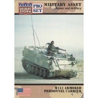 M113 Armored Personnel Carrier trading card (Desert Storm) 1991 Pro Set #206 Armor and Artillery Entertainment Collectibles