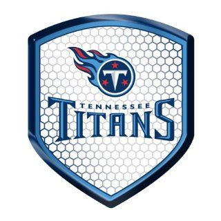 Tennessee Titans NFL Reflector Decal Auto Shield for Car Truck Mailbox Locker Sticker Football Licensed Team Logo  Automotive Decals  Sports & Outdoors