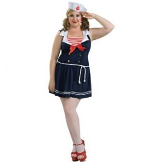 Sailor Girl Costume   Queen   Dress Size 18 20 Toys & Games
