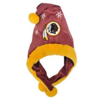 NFL Washington Redskins Thematic Santa Hat  Sports Fan Novelty Headwear  Clothing