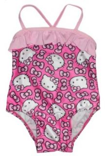 Hello Kitty Baby Girl's One piece Printed Swimsuit (24 Months) Clothing