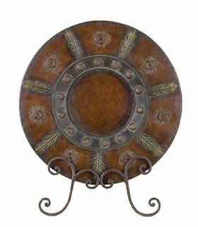 Shop Handcrafted Chinese Metal Plate with Table Stand at the  Furniture Store