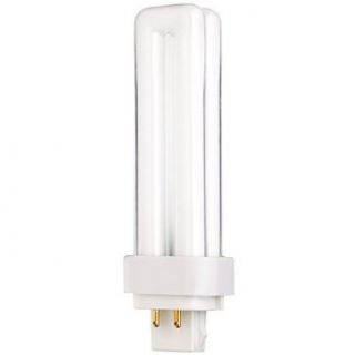 (25 Pack) CF13DD/E/865 13 Watt G24Q 1 Base 4 Pin Plug In Double U Tube 6500K  Fluorescent Tubes