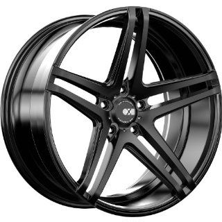 XO Caracas 20 Black Wheel / Rim 5x120 with a 30mm Offset and a 72.56 Hub Bore. Partnumber X233MQ5H30O72 Automotive