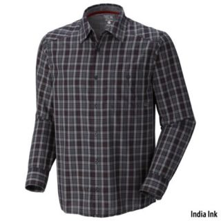 Mountain Hardwear Mens Cardwell Long Sleeve Plaid Shirt 613666