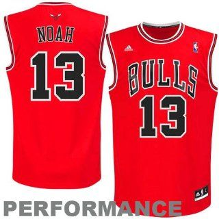 NBA adidas Joakim Noah Chicago Bulls Youth Revolution 30 Performance Jersey   Red  Sports Fan Jerseys  Sports & Outdoors