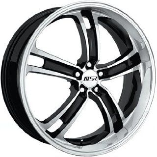 MSR 87 20 Super Finish Black Wheel / Rim 5x115 with a 40mm Offset and a 72.64 Hub Bore. Partnumber 8722715 Automotive