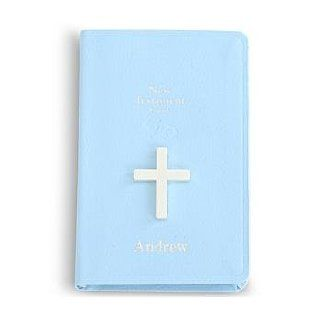 Personalized Baby Bible   Blue   New Baby Gift Clothing