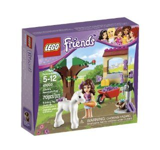 LEGO Friends Olivia Newborn Foal 41003 Toys & Games