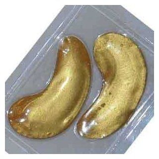 $1 24k Gold Crystal Eye Mask 1 Pair by Rh8 Jamela Skin Care  Beauty