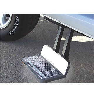 Kodiak 950117002 SideWINDER Retractable Passenger's Side Step, Silver   12 inch drop Automotive