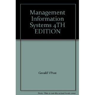 Management Information Systems 4TH EDITION Books