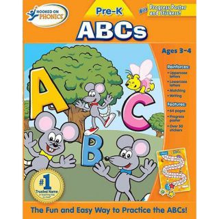 Hooked on Phonics Pre K ABCs [With Poster], Big Yellow Taxi Inc Childrens Books