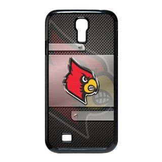 shinecases Samsung case   Fashionable Creative Samsung Galaxy S4 I9500 case for NCAA Louisville Cardinals Waterproof Rubber Back Cases Covers Cell Phones & Accessories