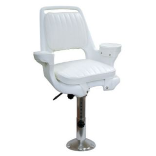 Wise Captains Chair With Adjustable Pedestal Slide Mounting Plate 98068