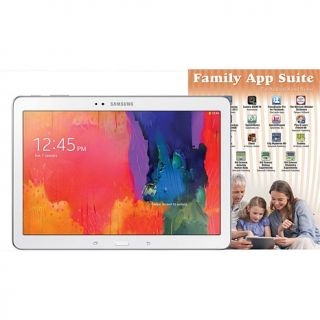"Samsung Galaxy TabPRO 10.1"" Quad Core 16GB Tablet with App Bundle   White"