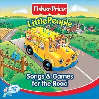 Fisher Price   Little People Songs and Games for the Road Music