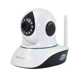 Vstarcam T7838WIP IP/Network Camera Plug and Play Night Vision with Two Way Audio Support 32G Micro SD H.264 CMOS HD Megapixel Computers & Accessories