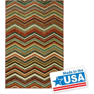Mohawk Home Candied Zig Zag Rug