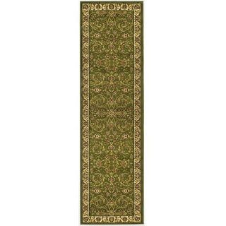 Lyndhurst Collection Traditional Sage/ivory Runner (23 X 6)