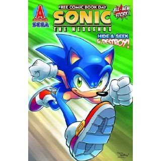 Sonic the Hedgehog Hide Seek and Destroy (Free Comic Book Day 2010) Ian Flynn, James Fry Books