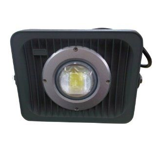 CnFacility 30W LED Landscape Yard Garden Spot Outdoor Flood Light 85 265V warm White   Size 9.45*7.28*5.31   Black   Landscape Spotlights