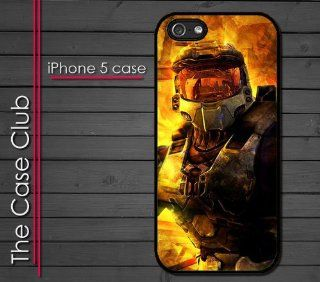 iPhone 5 Rubber Silicone Case   Halo Master Chief Halo 4 Reach Alien game Cell Phones & Accessories