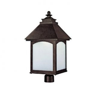 Capital Lighting 9056RI GD Outdoor Fixture with Frosted Seeded Glass Shades, Rustic Iron Finish   Wall Porch Lights