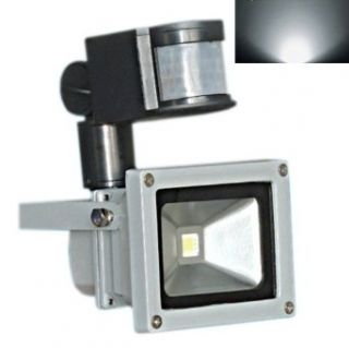 hkbayi Brand New 20W PIR Motion Sensor Led Flood light Floodlight Landscape Lamp White AC 85 265V