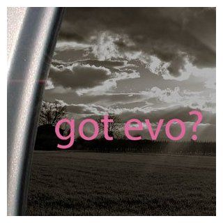 Got Evo? Pink Decal Mitsubishi Lancer Evolution Car Pink Sticker   Themed Classroom Displays And Decoration
