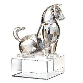 Swarovski Crystal Chinese Zodiac Dog   Collectible Figurines