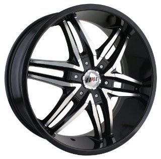 MPW MP208 22x9.5 Black Wheel / Rim 6x135 & 6x5.5 with a 30mm Offset and a 87.00 Hub Bore. Partnumber MP208 22937B Automotive