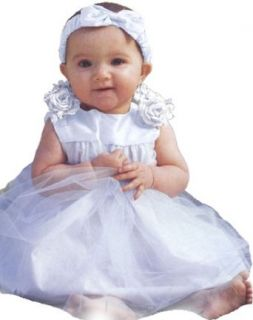 Infant Baby Girl Formal Party Silk Top Dress #302 Clothing