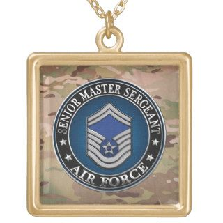 [200] Air Force Senior Master Sergeant (SMSgt) Custom Jewelry
