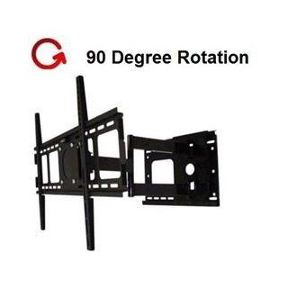 Rotating Portrait/Landscape Articulating TV Wall Mount for LG 47LN5200 LED TV **Rotates 90 Degree** Electronics