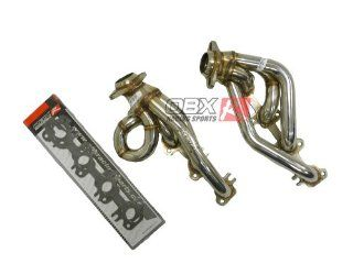 OBX EXHAUST HEADER SS304 02 04 Dodge Ram 4.7L V8 2/4 WD Automotive