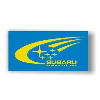 BIG SUBARU RALLY TEAM IMPREZA LEGACY FLAG SIGN BANNER Automotive