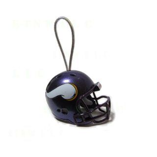 Official NFL National Football League Licensed Team Helmet Christmas Tree Ornaments   Minnesota Vikings Automotive