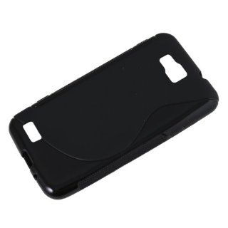 Black Soft TPU Gel Cover Case for Samsung Ativ S i8750 Windows 8 Phone Cell Phones & Accessories