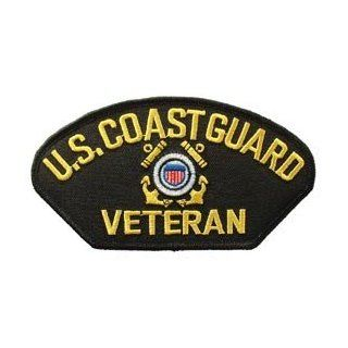 US Navy Armed Forces Military Large Hat or Shirt Iron On Patch   Coast Guard   USCG United States Coast Guard Veteran Applique Clothing