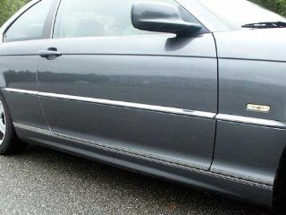 QAA 2000 2005 BMW 325i Coupe 4pc Body Side Molding Trim Automotive