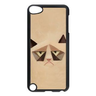 Tard the Grumpy Cat Case for Ipod 5th Generation Petercustomshop IPod Touch 5 PC00771   Players & Accessories