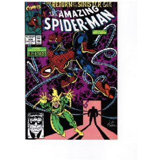 The Amazing Spider Man #334  Secrets, Puzzles, and Little Fears (The Return of the Sinister Six   Marvel Comics) David Michelinie, Erik Larsen Books