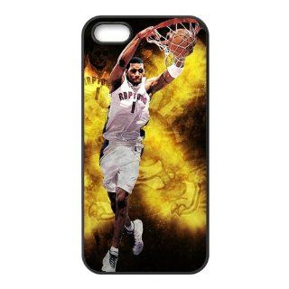 Custom NBA Houston Rockets Star Tracy McGrady Cover Case for iPhone 5S/5 5S 1600 Cell Phones & Accessories