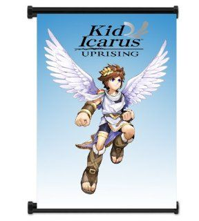 "Kid Icarus Uprising Game Fabric Wall Scroll Poster (16""x21"") Inches  Prints"