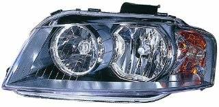 Depo 346 1105R AS2 Audi A3 Passenger Side Replacement Headlight Assembly Automotive