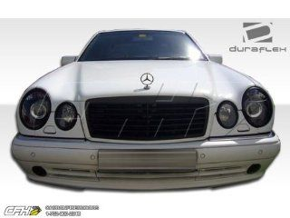 1996 1999 Mercedes Benz E Class W210 Duraflex AMG Look Front Bumper Cover   1 Piece Automotive